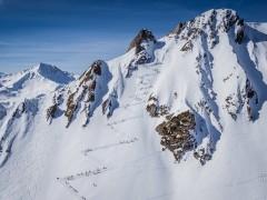 La double-rentrée de Côme, étudiant et champion en ski alpinisme
